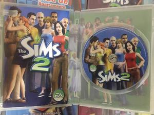 Coleção The Sims 2(lote de 9 CDs)