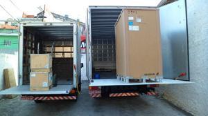 Frete,Transporte Vans HR e IVECO Baú c/Plataforma