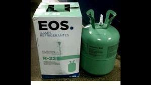 Garrafa de gas - r22 / eos