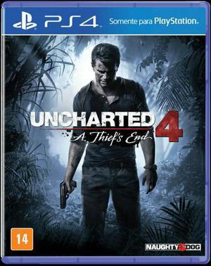 Jogo Uncharted 4- A thiefs end