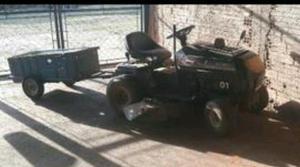 Mini Trator (Roçadeira+Carretinha)