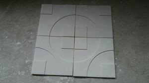Placas de gesso 3d para paredes