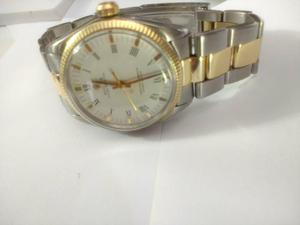 Relógio marca Rolex modelo  aco e ouro osyter
