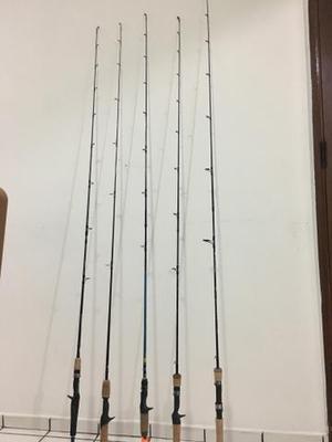 Vara de pesca (leia todo anúncio)