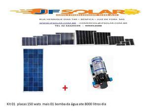 Kit bomba d agua solar