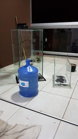 Aquario 200 litros com bomba