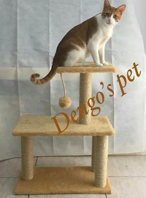 Arranhador de gato 3 bases