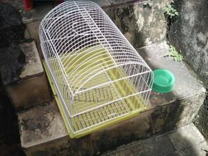 Gaiola e acessorios para hamster