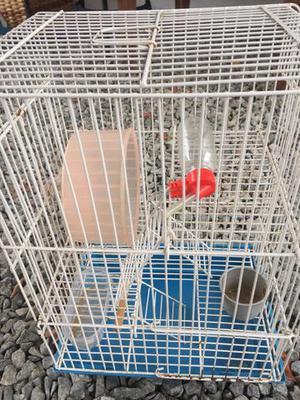 Gaiola hamster completa