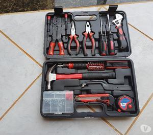 Super Kit Jogo Ferramentas C 150 Peças E Maleta Completo,