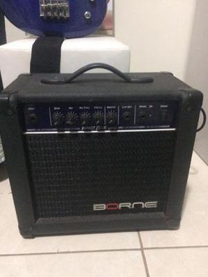 Amplificador P/ Contrabaixo 30w Impact Bass Cb80 Borne