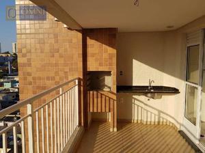 Apartamento residencial à venda, Vila Valparaíso, Santo