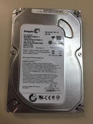 HD Seagate Barracuda 500GB  rpm - ST500DM002