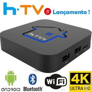 HTV BOX 5, ON TV, RECEPTOR SEM ANTENA, PELA INTERNET