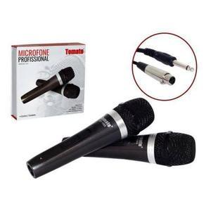 Microfone sem Fio Mt1003 2 Unidades Tomate