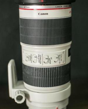 Objetiva Canon 70-200 USM ii com is