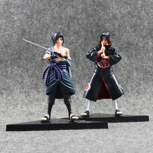 Coleção 2 Bonecos Sasuke e Itachi Uchiha - Action Figure
