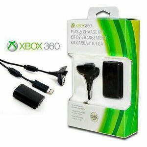 Kit bateria + carregador para Xbox pronta entrega