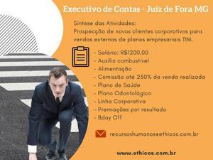 Vaga para Executivo de Contas - Empregos