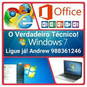 Formatação de Windows para Pc Notebook e Netbook