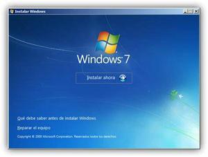 Formatação e instalação de windows R$