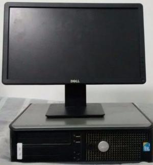 Lote Cpus com Monitores Dell Quadcore/Core2Duo e Dual Core
