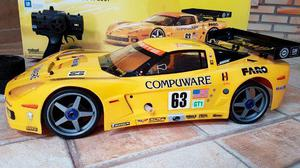 Automodelo Kyosho Inferno GT2 Corvette C6-R Motor GXR28SG
