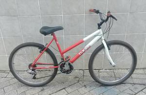 Branco/Vermelho Bike em São Bernardo do Campo