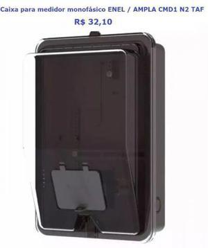 Caixa para medidor de energia, caixa para proteção e