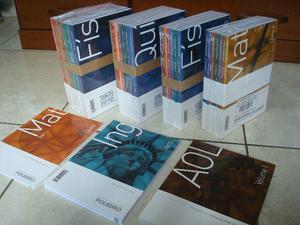 Apostilas pré-vestibular Poliedro (livros lacradas)