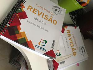 Coleção completa de livros Poliedro Pré Vestibular
