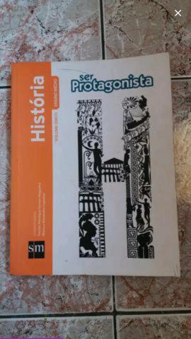 História coleção Ser Protagonista. Vol único