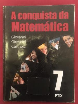 Livro A conquista da Matemática 7