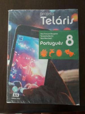 Livro Português 8 Projeto Teláris + Caderno de Atividades