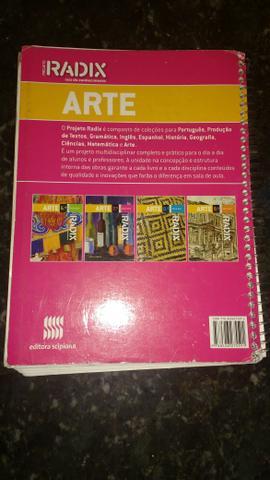 Livro de artes radix 7 ano