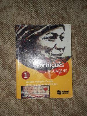 Livro de literatura Português e linguagens