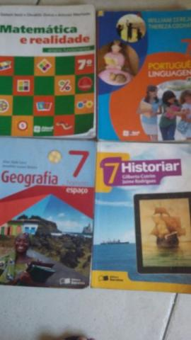 Livros 7º ano Colégio Monsenhor Reader -Editora