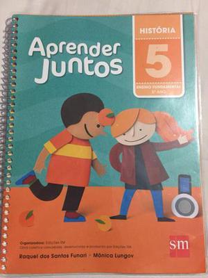 Livros aprender juntos 5 ano