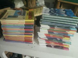 Vendo coleção de livros do anglo e objetivo