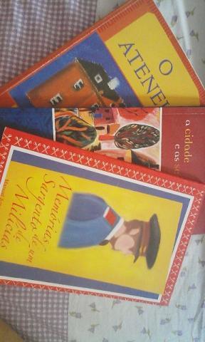 3 Livros da Literatura