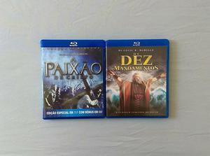 A Paixão de Cristo + Os Dez Mandamentos. Blu-ray