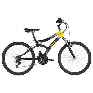 Bicicleta Caloi Aro 24, 21 Marchas + Acessórios
