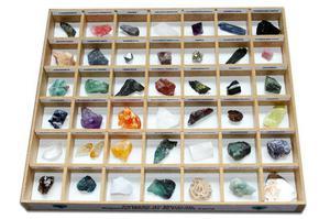 Coleção de Minerais: Riquezas Minerais do Planeta Terra