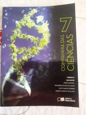 Livro - Companhia das Ciências 7 ano