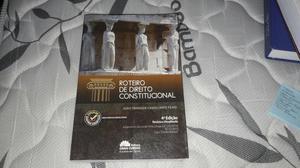 Livro Roteiro de Direito Constitucional
