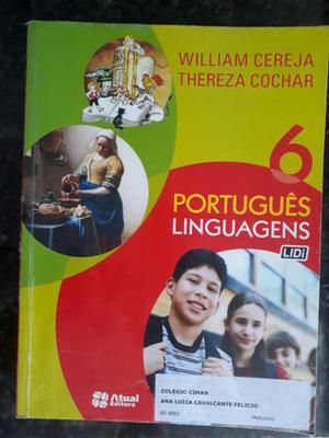 Livro de Português linguagens 6° ano