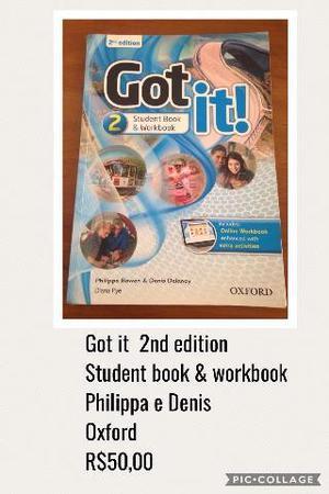 Livro de inglês 8º ano Got It 2 - Oxford
