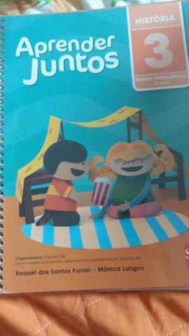 Livros Vamos Juntos 3° ano fundamental 1