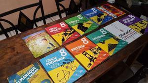 Livros completos Colégio Adv. 8º Ano