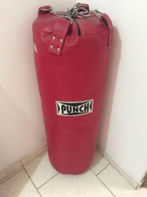 Saco De Pancada Punch - 20 Kg (+luva, +bandagem, +corda)